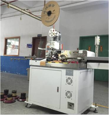 Wire cutting and punching machine