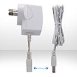 6W系列澳规SAA插墙式带线白色电源适配器