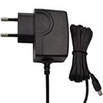 6W系列欧规CE插墙式带线黑色电源适配器