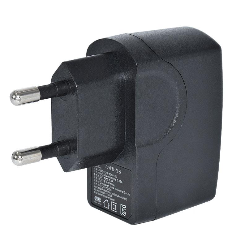 12W系列插墙式韩规USB接口电源适配器