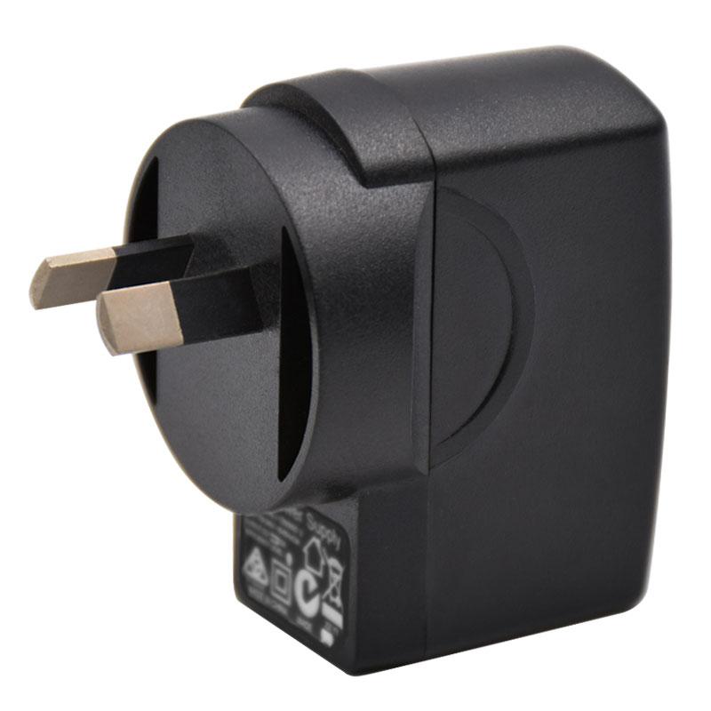6W系列澳规SAA插墙式USB电源适配器