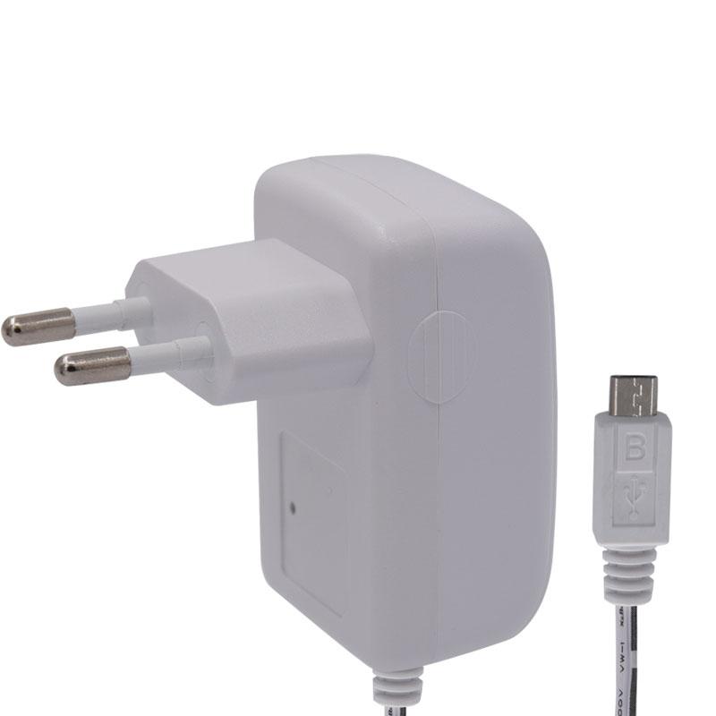 插墙式电源适配器白色外壳