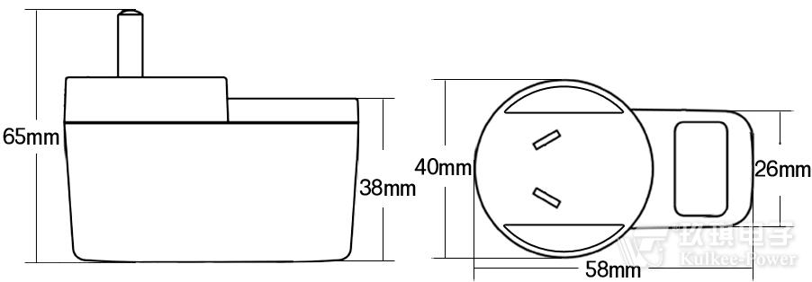 电源充电器外壳OEM代工代料