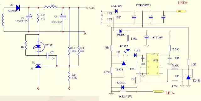 开关电源   ●单级vs 两级或三级   ●单级指单端反激pfc电路工作于