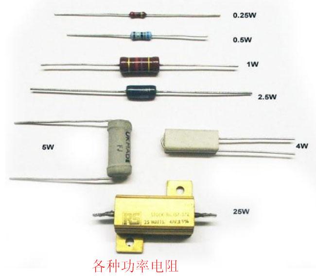 电阻器在电路中的作用