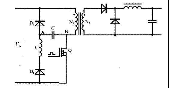 开关电源lcd无损吸收电路!