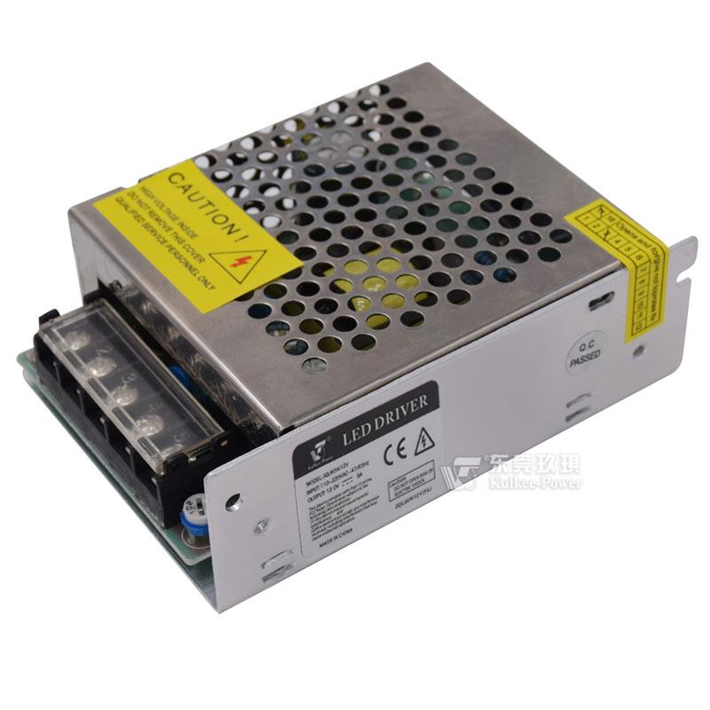 led驱动电源    12v5a开关电源 led灯条灯带直流电源 12v监控电源