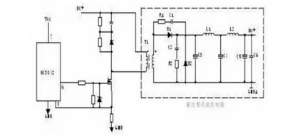 电源适配器电路图